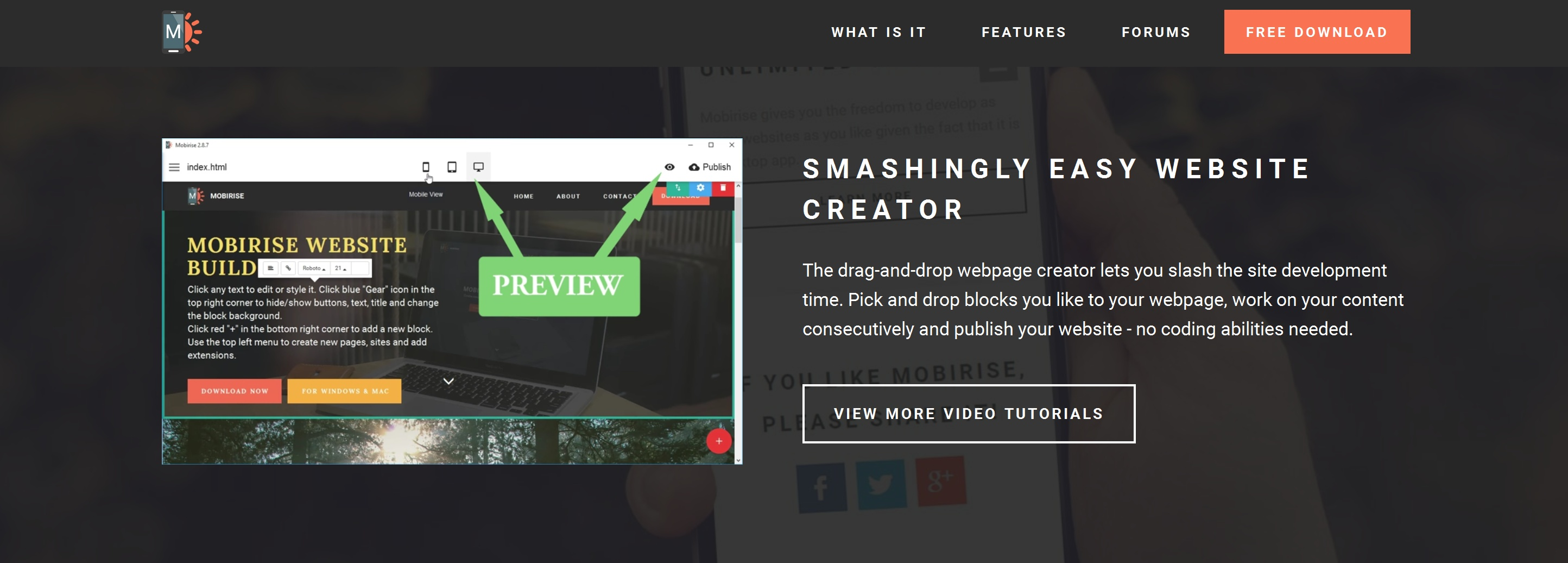 Drag and Drop Web Page  Builder Software