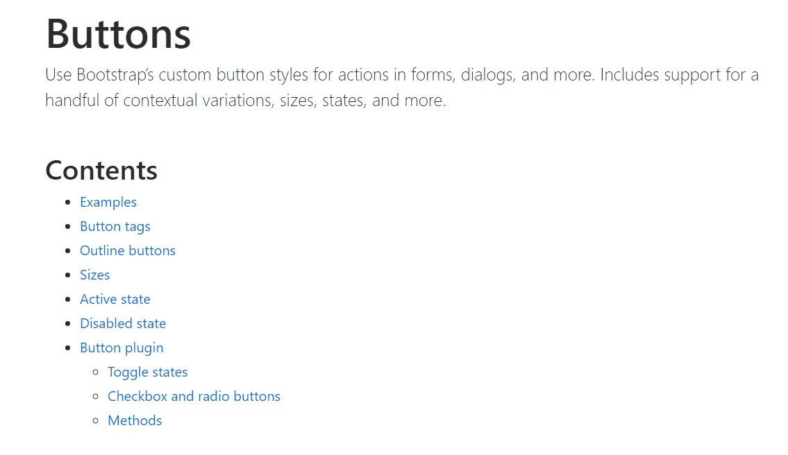 Bootstrap buttons  authoritative  records