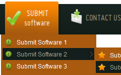 Best Menu Design On Web Pull Down Menue Download
