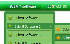 menu submenus flash Customize Select Menu Html