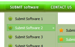 Inserer Menu Web Page Maker Submenu Example Html
