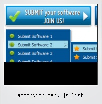 Accordion Menu Js List