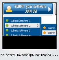 Animated Javascript Horizontal Menu