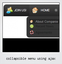 Collapsible Menu Using Ajax