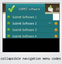 Collapsible Navigation Menu Codes