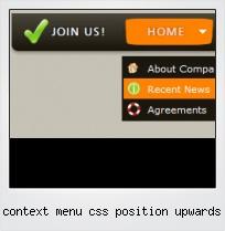 Context Menu Css Position Upwards