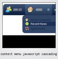 Context Menu Javascript Cascading