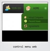 Control Menu Web