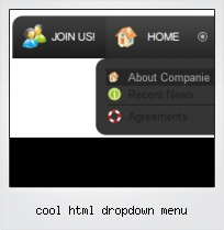 Cool Html Dropdown Menu