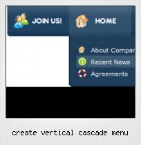 Create Vertical Cascade Menu