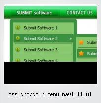 Css Dropdown Menu Navi Li Ul