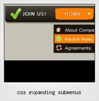 Css Expanding Submenus
