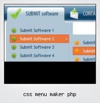 Css Menu Maker Php