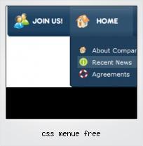 Css Menue Free