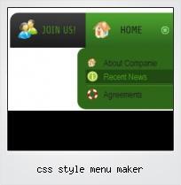 Css Style Menu Maker