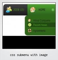 Css Submenu With Image