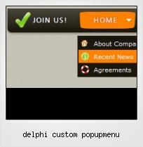 Delphi Custom Popupmenu