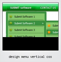 Design Menu Vertical Css