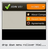 Drop Down Menu Rollover Html Sample