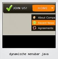 Dynamische Menubar Java