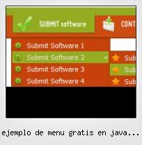 Ejemplo De Menu Gratis En Java Script