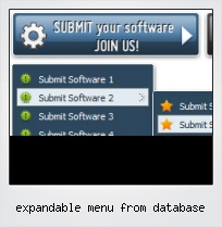 Expandable Menu From Database