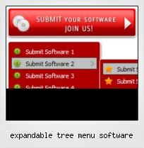 Expandable Tree Menu Software
