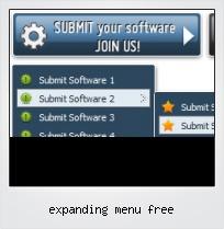 Expanding Menu Free