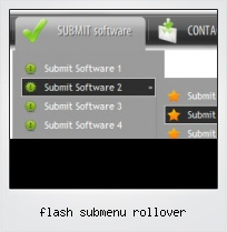 Flash Submenu Rollover