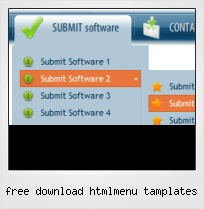 Free Download Htmlmenu Tamplates
