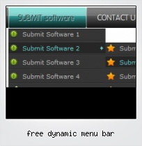 Free Dynamic Menu Bar