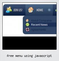Free Menu Using Javascript