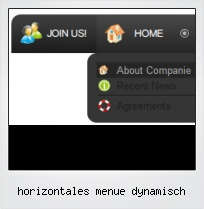 Horizontales Menue Dynamisch