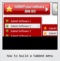 How To Build A Tabbed Menu