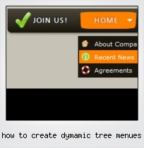 How To Create Dymamic Tree Menues
