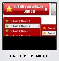 How To Create Submenus