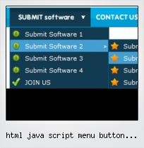 Html Java Script Menu Button Sample Code