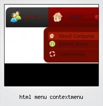 Html Menu Contextmenu
