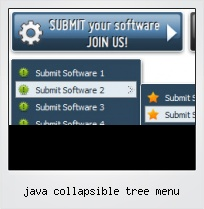 Java Collapsible Tree Menu