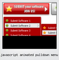Javascript Animated Pulldown Menu