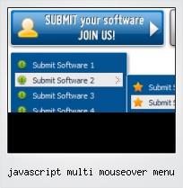 Javascript Multi Mouseover Menu