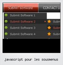 Javascript Pour Les Sousmenus