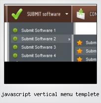 Javascript Vertical Menu Templete