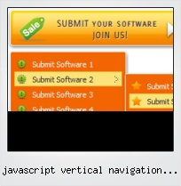 Javascript Vertical Navigation Menus