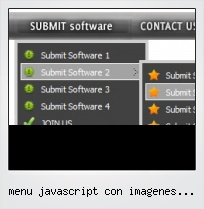 Menu Javascript Con Imagenes Tutorial