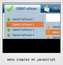 Menu Simples En Javascript
