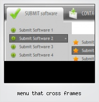 Menu That Cross Frames