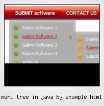Menu Tree In Java By Example Html