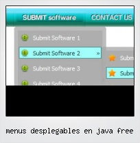 Menus Desplegables En Java Free