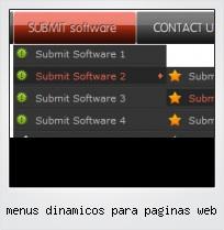 Menus Dinamicos Para Paginas Web